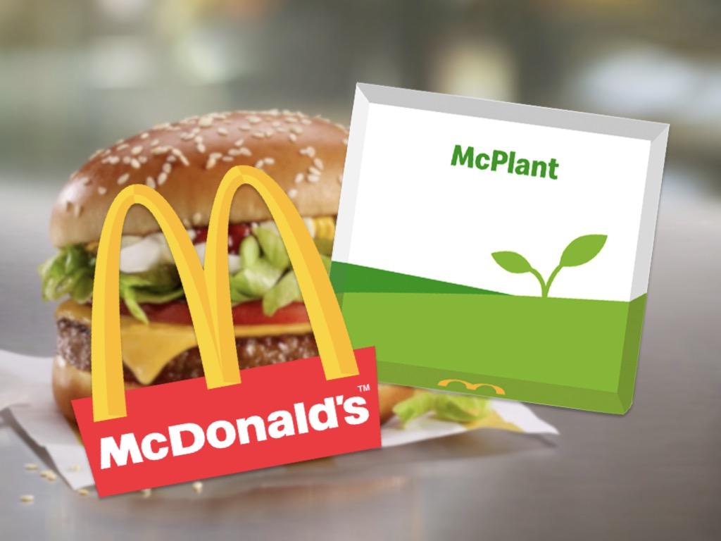McDonalds insiste pour l'alternative Végane