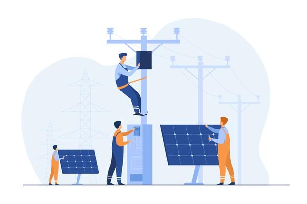 Panneaux solaires et restaurants écologiques