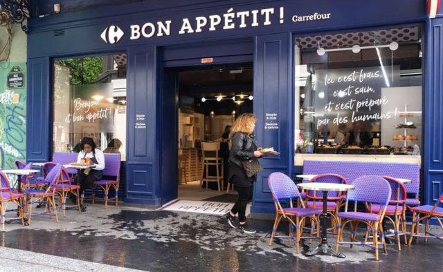 Façade de Carrefour Bon Appétit